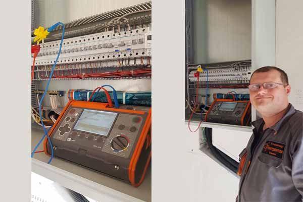 измерение сопротивления вводного кабеля электролабораторией сонел  в Харькове фото