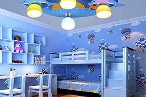 освещение в детской комнате фото